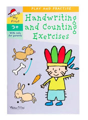 Gillian Miles - Play & Practice - Handwriting & Counting Exercises
