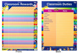 Gillian Miles - Classroom Rewards/Duties - Wall Chart