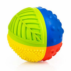 CaaOcho Petit Natural Rubber Rainbow Sensory Ball/Bath Toy