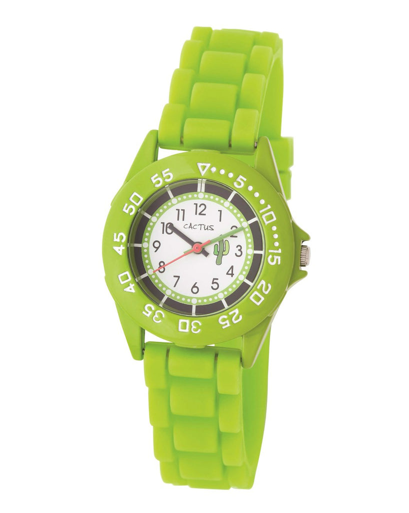 CACTUS Watches - Beach Bright - Sporty Youth / Kids - Lime CAC-64-M12