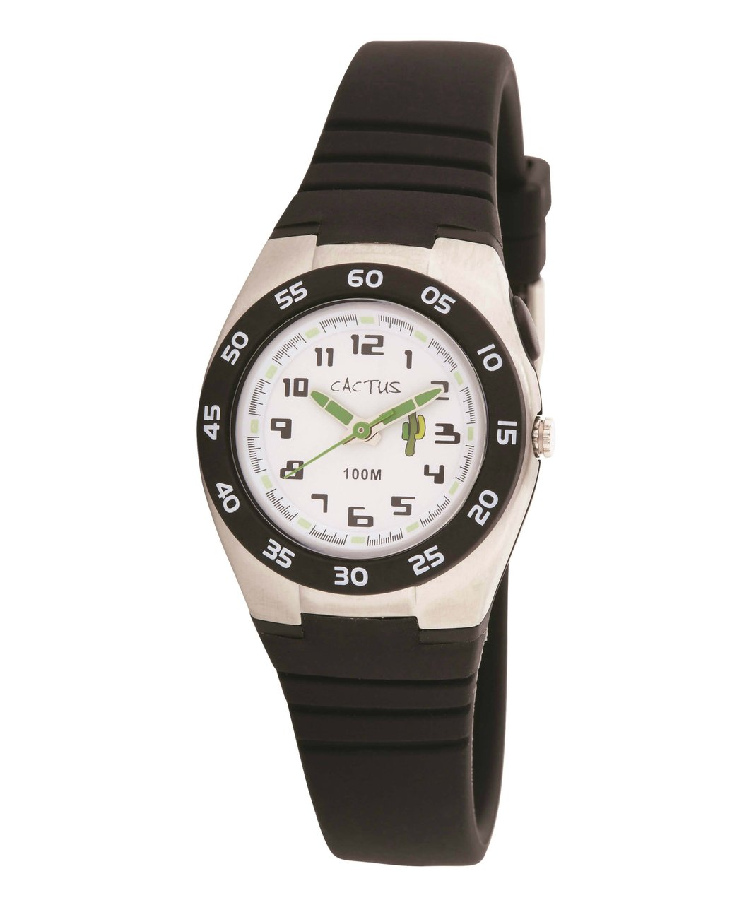CACTUS Watches - Summer Glide - Waterproof Kids Watch - Black - CAC-75-M01