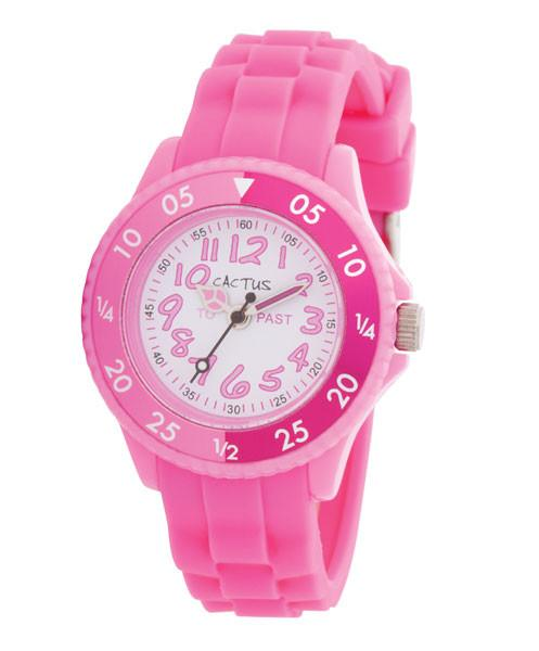 CACTUS Watches - Time Tutor - Time Teacher -Pink- CAC-77-M05