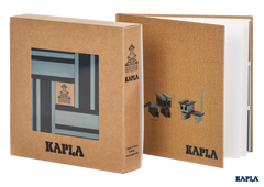Kapla Book and Colours- Light & Dark Blue
