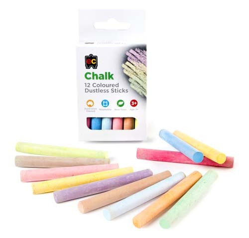 EC Chalk Coloured Set 12