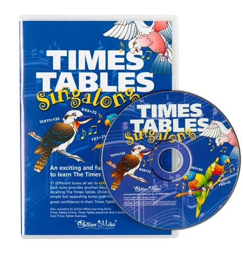 Gillian Miles - Times Table Singalong CD