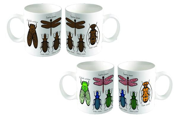 HEEBIE JEEBIES Colour Change Entomology Mug