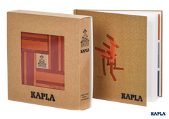 Kapla Book and Colours- Red & Orange