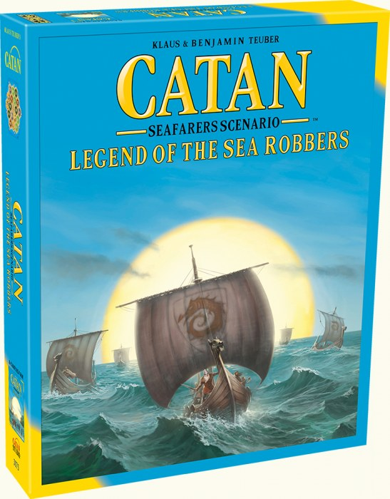 CATAN Legend of the Sea Robbers - Seafarers Scenario Expansion