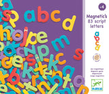 DJECO Magnetic Letters L/C 83pc