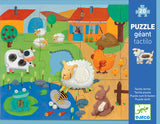 DJECO Puzzle Tactile Farm - Sensory 20pc