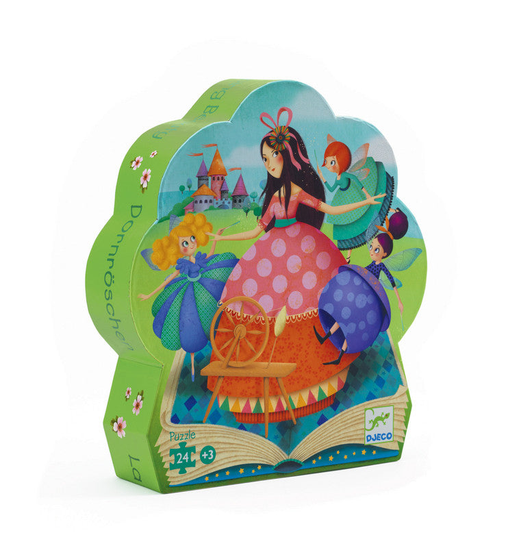 DJECO Puzzle Silhouette Sleeping Beauty 24pc
