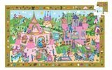 DJECO Puzzle Observation Princess 54pc