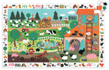 DJECO Puzzle Observation Farm 35pc
