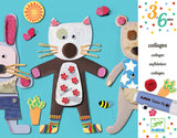 DJECO Art Kits - Collage for Littlies - Preschool