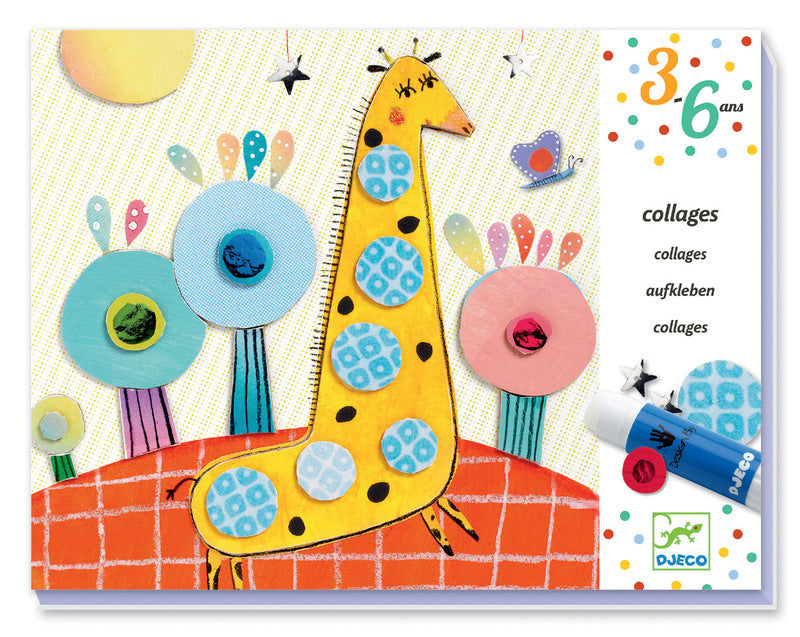 DJECO Art Kits - Collage - So Pop