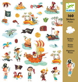 DJECO Stickers Pirates