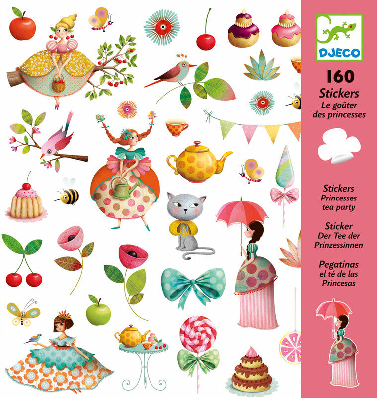 DJECO Stickers Tea Party