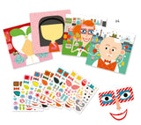 DJECO Stickers - Create All Different Stickers Kit