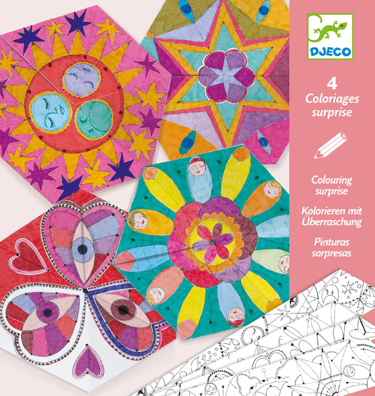 DJECO Art - Colour Surprise - Constellation Mandalas
