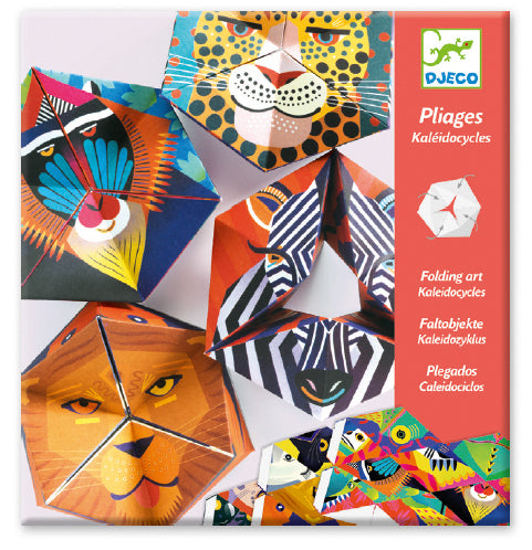 DJECO Art - Paper Creations - Flexianimals