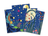 DJECO Full Moon Scratch Cards