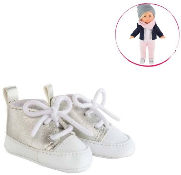 COROLLE - Mademoiselle/Ma Corolle - Clothing - Shoes Silver Sneakers 36cm