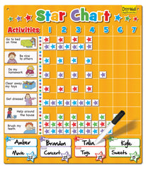 FIESTA CRAFTS Magnetic Chart - Family Star Chart