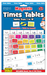 FIESTA CRAFT Magnetic Chart - Times Table 1-12