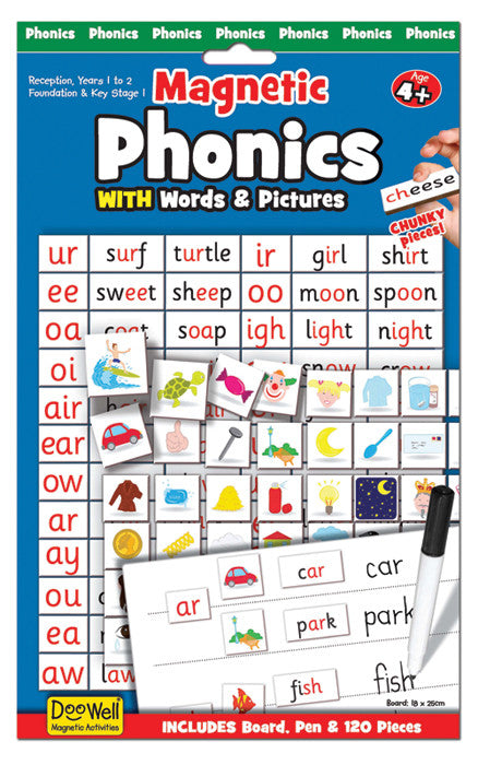 Fiesta Crafts Magnetic Chart - Phonics