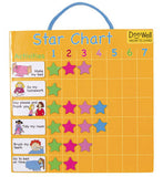 FIESTA CRAFTS Magnetic Chart - Star Chart Yellow