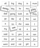 FIESTA CRAFT Magnetic Charts - First Words Reception