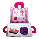 DYLES Quiet Book Pink Stripe