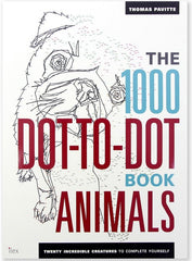 1000 Dot-To-Dot Animals P/B