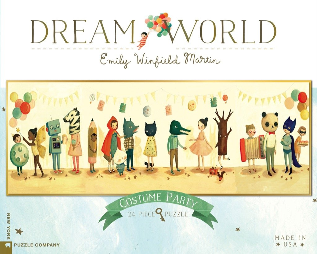 New York Puzzle Co. - Dream World Costume Party 24 pc