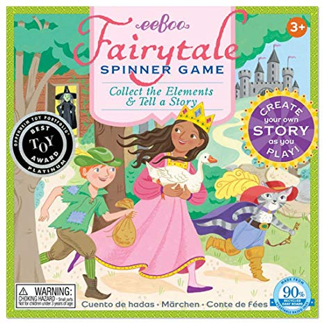 EEBOO - Game - Fairytale Spinner