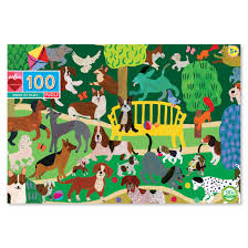 EEBOO - Puzzle - Dogs at Play - 100pc