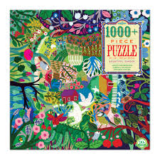 EEBOO -  Puzzle - Bountiful Garden  -  1008 Piece