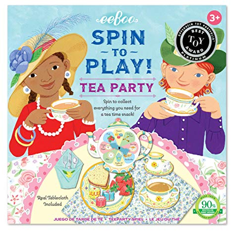 EEBOO - Game - Tea Party Spinner