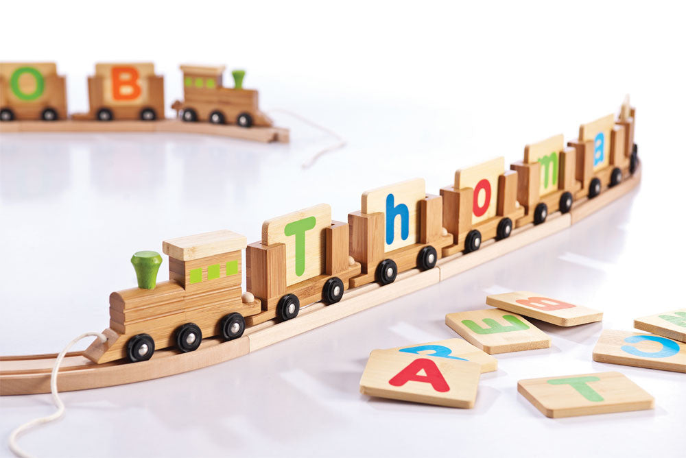 EVEREARTH Name Train Letters