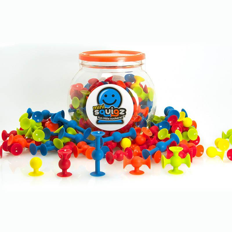 FAT BRAIN TOYS - Mini Squigz 30 piece