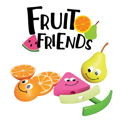 FAT BRAIN TOYS - Fruit Friends - 3-in-1 Toddler Toy
