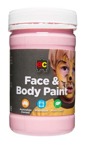 EC Face & Body Paint Pink 175ml