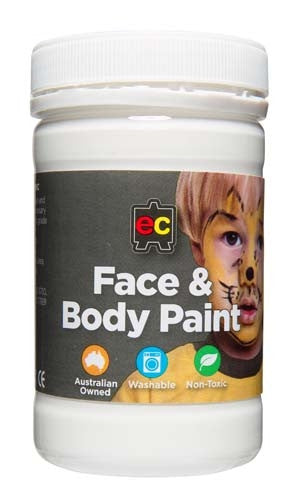 EC Face & Body Paint White 175ml