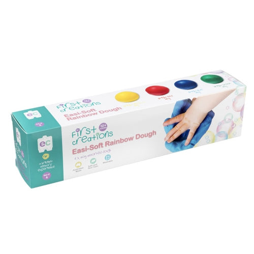EC First Creations Dough - soft Rainbow set 4
