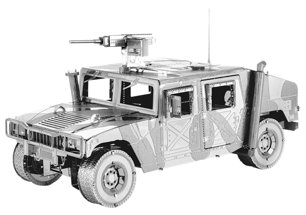 METAL EARTH Iconx - Humvee - 3D Model