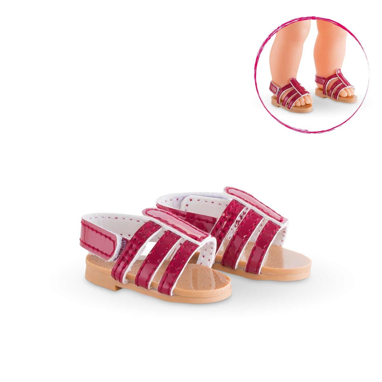COROLLE MaCorolle - Clothing - Sandals Cherry -  36cm