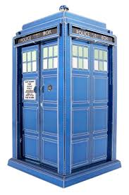 METAL EARTH Dr Who - Tardis - 3 D Model