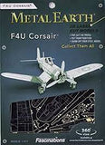 Metal Earth Aircraft - F4U Corsair