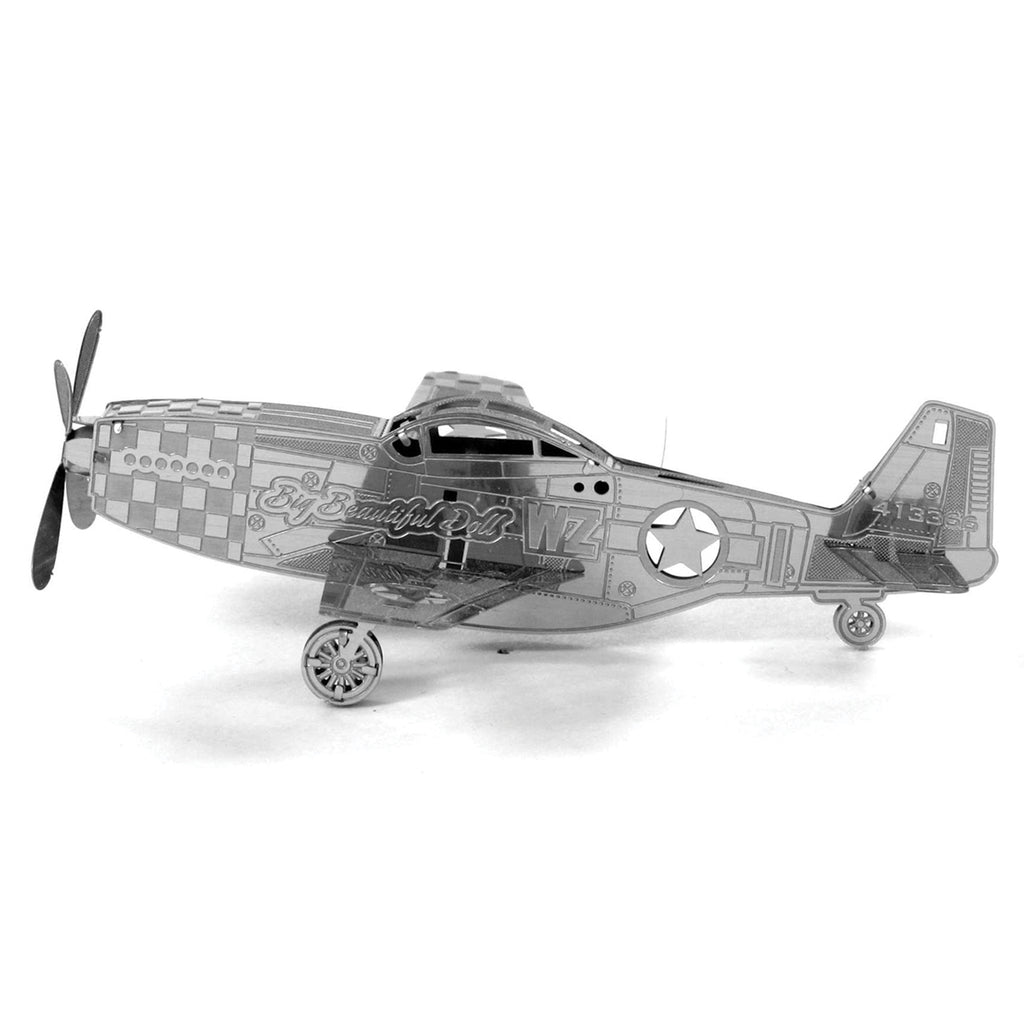 METAL EARTH Aircraft - Mustang P-51