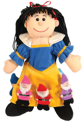 FIESTA CRAFTS Hand Puppet w/finger puppets Snow White